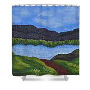 007 Landscape Shower Curtain