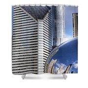 0077 Millennium Park Chicago Shower Curtain