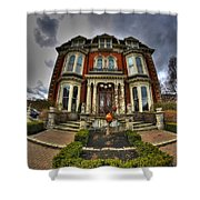 008 Mansion On Delaware Ave Shower Curtain