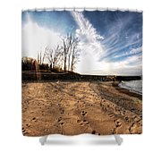 008 Presque Isle State Park Series Shower Curtain