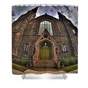 009 Asbury Delaware Avenue Methodist Church Shower Curtain