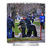 009 Bloody Marys At The Turkey Trot 2014 Shower Curtain