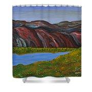 009 Landscape Shower Curtain