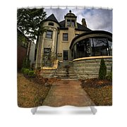 009 Law Offices Cornell Mansion Shower Curtain