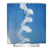 0107 - Air Show - Neo Shower Curtain