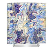 0114 Abstract Thought Shower Curtain