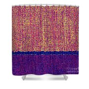 0116 Abstract Thought Shower Curtain