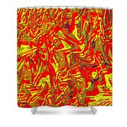 0118 Abstract Thought Shower Curtain