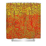 0124 Abstract Thought Shower Curtain