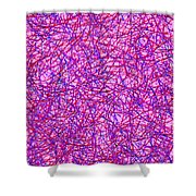 0125 Abstract Thought Shower Curtain