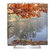 0132 Autumn At Starved Rock Shower Curtain