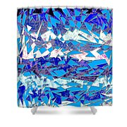 0137 Abstract Thought Shower Curtain