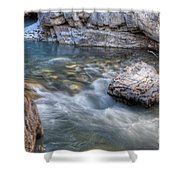 0143 Marble Canyon   Shower Curtain