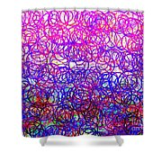 0144 Abstract Thought Shower Curtain