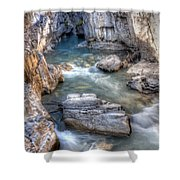 0144 Marble Canyon 2 Shower Curtain