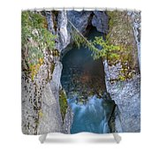 0147 Marble Canyon Shower Curtain
