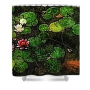 0148-lily -   Lux Sl Shower Curtain