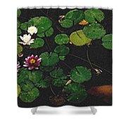 0148-lily -   Pastel Chalk 2 Sl Shower Curtain