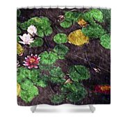 0148-lily -  Watercolor 2 Sl Shower Curtain