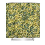 0149 Abstract Thought Shower Curtain