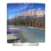 0149 Castle Mountain Shower Curtain
