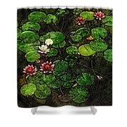 0151-lily -   Lux Sl Shower Curtain