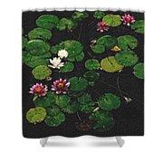 0151-lily -  Pastel Chalk 2 Sl Shower Curtain