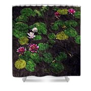 0151-lily -  Watercolor 2 Sl Shower Curtain