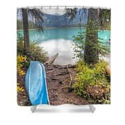 0162 Emerald Lake Shower Curtain