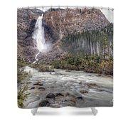 0163 Takakkaw Falls Shower Curtain
