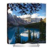 0164 Moraine Lake Shower Curtain