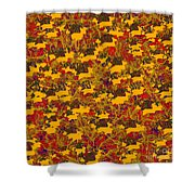 0167 Abstract Thought Shower Curtain