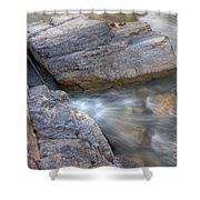 0180 Marble Canyon 2 Shower Curtain