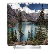 0184 Moraine Lake Shower Curtain