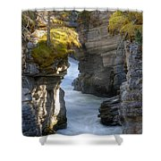 0191 Athabasca Canyon 2 Shower Curtain