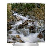 0192 Glacial Runoff Shower Curtain