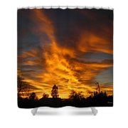 02 05 11 Sunset Two Shower Curtain