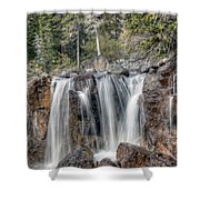 0206 Tangle Creek Falls 2 Shower Curtain