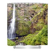 0237 Multnomah Falls Oregon Shower Curtain