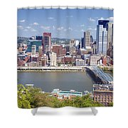 0240 Pittsburgh Pennsylvania Shower Curtain
