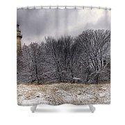 0243 Grosse Point Lighthouse Evanston Illinois Shower Curtain
