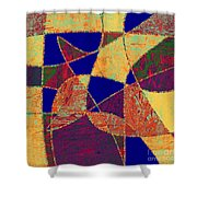 0268 Abstract Thought Shower Curtain