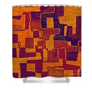 0272 Abstract Thought Shower Curtain