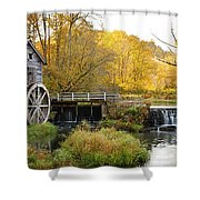 0289 Hyde's Mill Wisconsin Shower Curtain