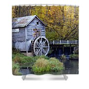 0290 Hyde's Mill Wisconsin Shower Curtain