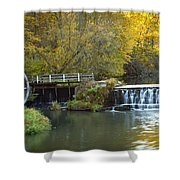 0291 Hyde's Mill Wisconsin Shower Curtain