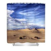 0292 Death Valley Sand Dunes Shower Curtain