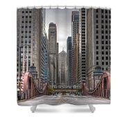 0295 Lasalle Street Chicago Shower Curtain