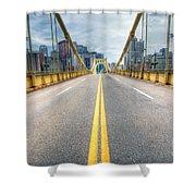 0306 Pittsburgh 9 Shower Curtain
