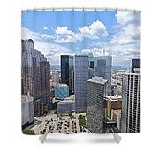 0317 Dallas Texas Shower Curtain
